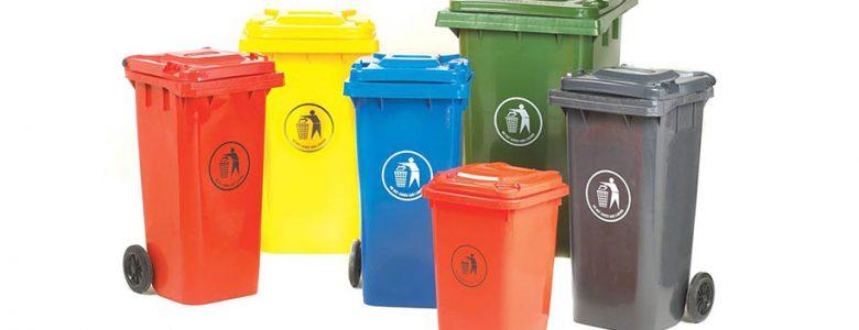 Cor para cada lixo dispensado