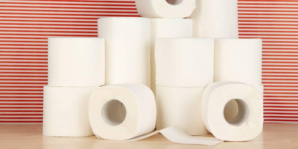Você sabia que o papel higiênico servia para embalar e acolchoar