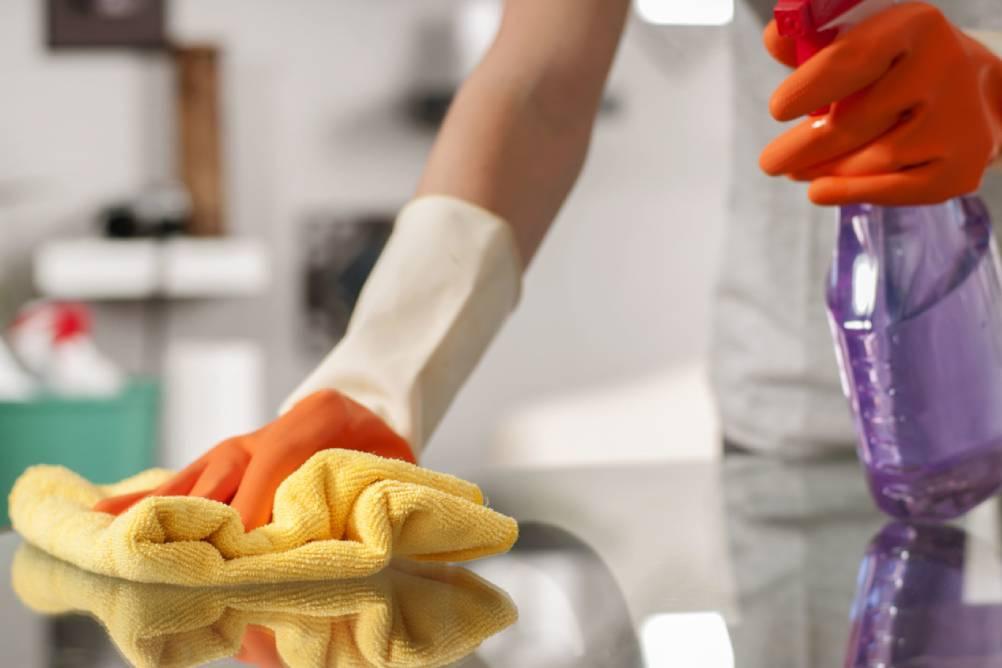 Produtos de Limpeza para matar germes